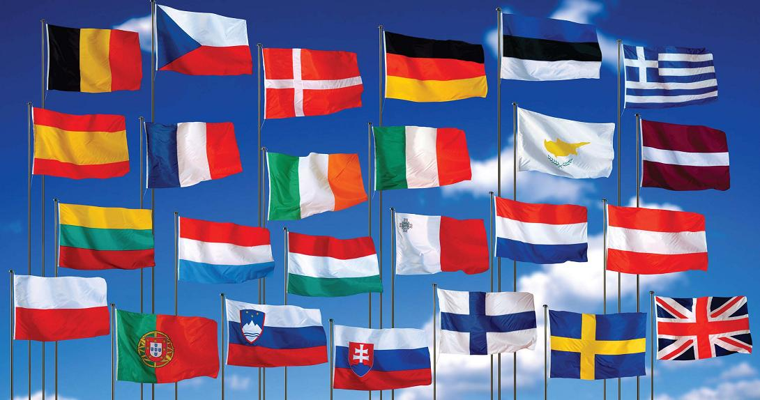 The flags of the European Union40